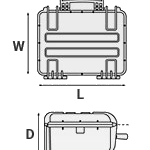 Explorer 4U Rack Bag